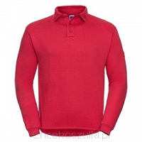 Adults Heavy Duty Collar Sweatshirt