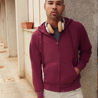 Lightweight Zip Hooded Sweat Jacket
