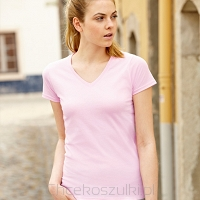 Ladies V Neck Valueweight T